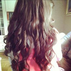 Messy Wand Curls