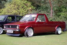 Daily caddy Vw Rabbit Pickup, Vw Pickup, Mk1 Caddy, Bmw E38, Volkswagen Caddy, Vw Cars, Rabbits, German, Wheels