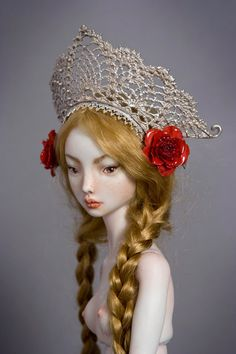 Amalgamation - Enchanted Doll by Marina BychkovaMarina Bychkova is a Russian-Canadian figurative artist and a founder of Enchanted Doll™- a luxury toy label of exquisite, porcelain dolls-