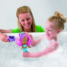 Bubble Guppies Splash & Surprise Molly Bath Doll