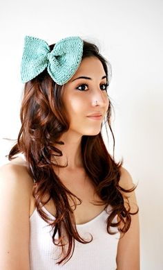 large bow for hair