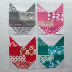 Cat Quilt Tutorial (with in-depth pattern and instructions) Dog Quilts, Animal Quilts, Scrappy Quilts, Barn Quilts, Mini Quilts, Quilting Tutorials, Quilting Projects, Quilting Designs, Sewing Projects