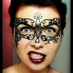 Gallery For > Steampunk Face Paint