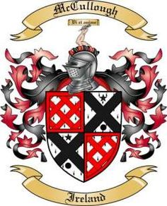 McCullough Family Coat of Arms from Ireland