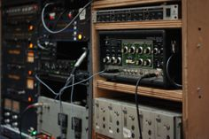 The outboard rack part 2. A great selection of Telefunken V76 Mic Pre's