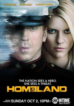 "Poster zur TV-Serie ""Homeland"""
