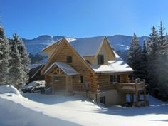 Beautiful Log Home Away From Home In Summit County Near Breckenridge, Colorado.Vacation Rental in Quandary Village from @HomeAway! #vacation #rental #travel #homeaway
