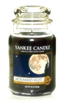 Yankee Candles • Midsummer's Night is one of my favorites, but I like seasonal scents (apple cider, etc.) as well. Gift cards are welcome as well. - for Amy
