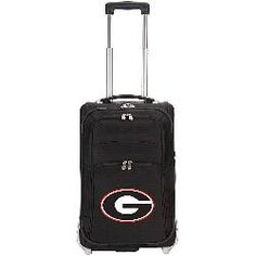 Georgia Bulldogs Nylon Carry On Luggage