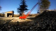 RC CONSTRUCTION Excavator Crane Works Manitowoc 4600 with clamshell