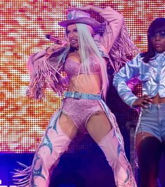 Cardi B Wears Sexy, Bedazzled Cowgirl Outfit for Houston Rodeo Show: Photo Cardi B hits the stage in her sexy cowgirl outfit while performing for a huge crowd at the Houston Livestock Show & Rodeo on Friday (March at NRG Stadium… Cowgirl Halloween Costume, Couple Halloween Costumes, Halloween Outfits, Teen Costumes, Woman Costumes, Pirate Costumes, Group Costumes, Cowboy Costumes, Turtle Costumes