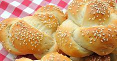retete chifle, chifle japoneze, chifle impletite, retete paine, japoneze, japoneze reteta Pastry And Bakery, Bread Recipes, Hamburger, Homemade, Recipes, Home Made, Hamburgers, Hand Made
