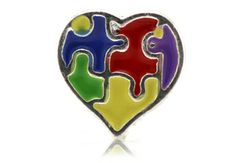 Autism Awareness Floating Locket Charm by Our Hearts Desire (OHD charms fit Origami Owl lockets)