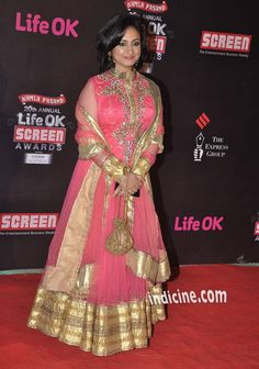 Divya Dutta at the 20th Annual Life Ok Screen Awards 2014