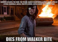 "1,183 Likes, 67 Comments - The Walking Dead (@amcthewalkingdeadfeed) on Instagram: ""Walking Dead logic. #TWD"""