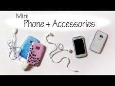 Polymer Clay Phone Tutorial - Dolls/Dollhouse - YouTube