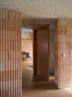 Laminated Veneer Lumber, Long House, Tadelakt, Vernacular Architecture, Floor Layout, Clay Tiles, Higher Design, Raw Materials, Danish Modern