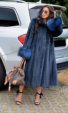 Picture 2 of 9 Fur Fashion, Winter Fashion, Cashmere Cape, Fabulous Furs, Church Outfits, Mink Fur, Vest Jacket, Boujee Lifestyle, Cute Outfits