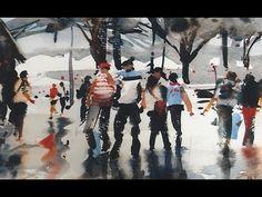 Ev Hales Painting Figures - YouTube