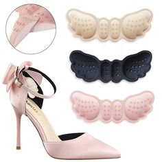 Soft Heels, High Heels, Butterfly Shoes, Shoes Too Big, Cushion Inserts, Fall Shoes, Feet Care, Pump Shoes, Home