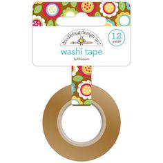 Crafters Workshop Day to Day Washi Tape, 12-Yard, Full Bloom #washi #washiaddict #ECLP