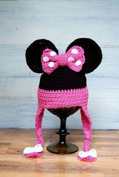 87 Best crochet minnie mouse hat images | Minnie mouse