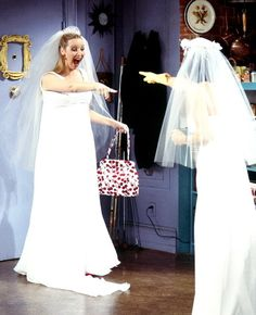 the one with the wedding dresses
