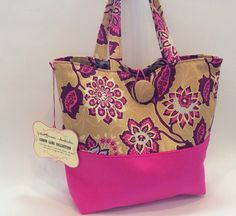 Pretty shade of pink tote