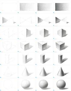 교재(그림의 조건 1 기초소묘) + 코팅 교재(A4) 28장(이젤 거치 교재용) 세트 - WONART SHOP Basic Sketching, Basic Drawing, Perspective Drawing Lessons, Perspective Art, Pencil Shading Techniques, Art Techniques, Pencil Art Drawings, Art Drawings Sketches, Pencil Drawing Tutorials