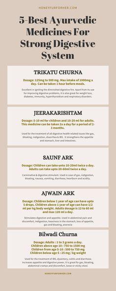 5 Best Ayurvedic Medicines For Strong Digestive System, Best Ayurvedic Medicines For Gastric Problem, Digestive Tonics #ayurveda #ayurvedalife #herbalmedicine #honeyfurforher