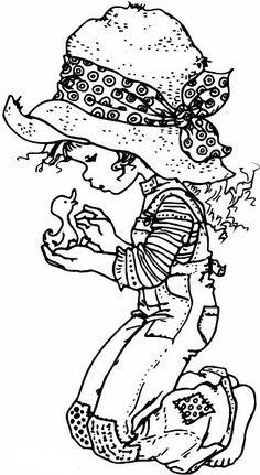 Resultado de imagen para dibujos para colorear de sarah kay estudiando Sara Kay, Adult Coloring Pages, Coloring Sheets, Coloring Books, Colouring, Free Coloring, Digi Stamps, Sunbonnet Sue, Holly Hobbie