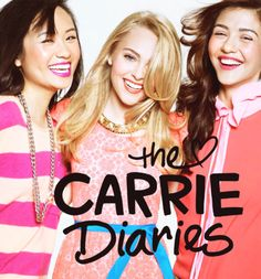 The Carrie Diaries.. If you don't watch this show I would start