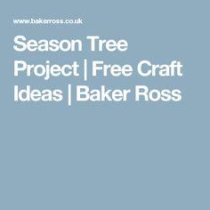 Season Tree Project | Free Craft Ideas | Baker Ross