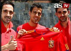 ¡Adrián, Juanfran y Domínguez selección!