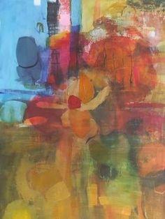 "Saatchi Art Artist Sarah Stokes; Painting, ""reaching into the depths"" #art"