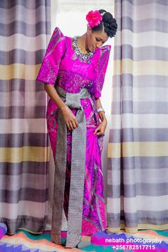 9 Best Gomesi Images Ugandan Traditional Dresses How To Wear