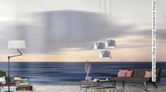 Tapete: Swinging Ocean | Blue Hour | Ingo Krasenbrink Design - Die TapetenAgentur