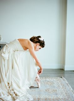 Ethereal Ballet Wedding Inspiration | Joelle Charming