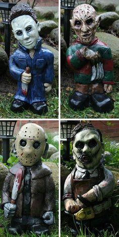 Serial Killer Garden Gnomes? Yes.