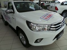 ☝️📢Great deals and specials daily, only at CMH Toyota Alberton. 👉Including a brand new 2018 Toyota Hilux Single Cab selling @ 2017 Prices ! Toyota Hilux, Gd, Great Deals