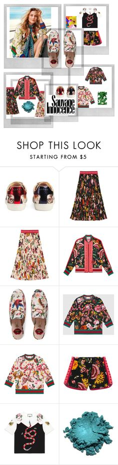 """""""gucci garden exclusive #"""" by ferialbraik ❤ liked on Polyvore featuring Polaroid, Gucci and Dolce&Gabbana"""