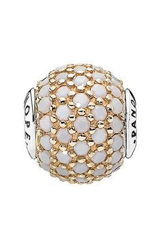 PANDORA 'Essence - Hope' Pavé Bead Charm available at #Nordstrom