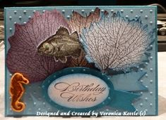 Under the Sea by VeronicaK - Cards and Paper Crafts at Splitcoaststampers