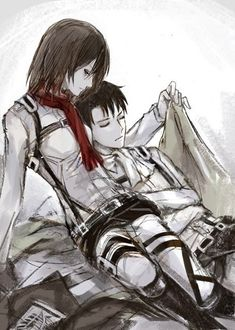 №1 [Rivamika/Levimika] [Fan arts]..