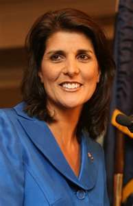 Nikki Haley..Governor of South Carolina.....great speaker, and very bright!!!!!