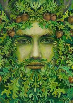 Green man..very handsome