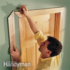 Use your pencil instead of your tape, and other helpful carpentry tips.
