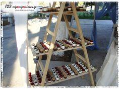 ΣΤΟΛΙΣΜΟΣ ΓΑΜΟΥ - ΒΑΠΤΙΣΗΣ :: Στολισμός Γάμου Θεσσαλονίκη και γύρω Νομούς :: ΣΤΟΛΙΣΜΟΣ ΓΑΜΟΒΑΠΤΙΣΗΣ ΜΕ VINTAGE ΑΛΟΓΑΚΙ ΚΩΔ.:ALOG-1049 Wine Rack, Ladder Decor, Storage, Furniture, Vintage, Home Decor, Purse Storage, Decoration Home, Room Decor