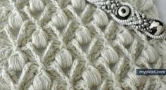 Textured Puff Stitch from MyPicot | Free crochet patterns