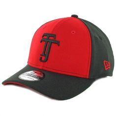 Era 3930 Club Tijuana Xolos Flexfit Hat (Scarlet Black) Mexico Soccer Cap 0f3b1cf0f83